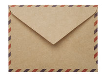 brown paper envelope Royalty Free Stock Photography