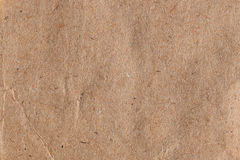 Brown paper with fibers Stock Image