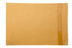 A brown paper folder Stock Photography