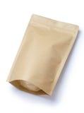 brown paper food bag Stock Images