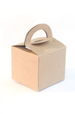 Brown paper food box packaging Stock Photography
