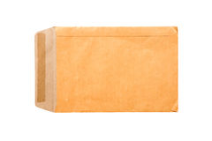 Brown paper isolated Royalty Free Stock Images