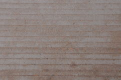 Brown paper with lines Stock Image