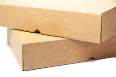 Brown paper overlay. Royalty Free Stock Photos
