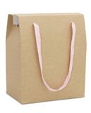 Brown paper package bag Royalty Free Stock Photos