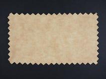 Brown paper sample Stock Image