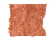 Brown Paper Scrap Stock Image