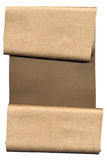 Brown Paper Scroll Royalty Free Stock Images
