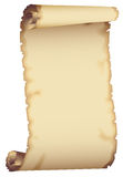 Brown paper scroll Stock Photos