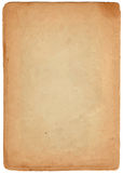 Brown paper scroll. For sample text royalty free stock images