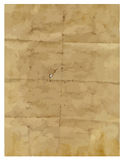 Brown paper scroll Royalty Free Stock Photo