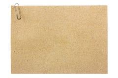 Brown paper sheet. Paper texture - brown paper sheet Stock Image