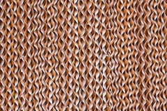 brown paper spiral Stock Image