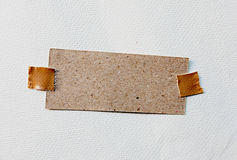 Brown Paper Stick Stock Photography