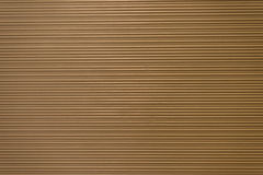 Brown paper with stripe Royalty Free Stock Images