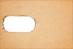 Brown paper texture for artwork Royalty Free Stock Images