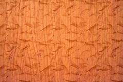 Brown Paper Texture. Brown orange wrinkled paper texture Royalty Free Stock Image