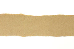 Brown paper texture sheet Royalty Free Stock Photography