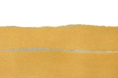 Brown paper texture sheet Stock Photography
