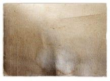 Brown papier zdjęcie stock