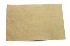 Brown-Papierbeschaffenheit Stockbild