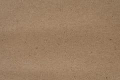 Brown-Papierbeschaffenheit Lizenzfreie Stockbilder