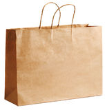 Brown-Papierbeutel Lizenzfreies Stockfoto