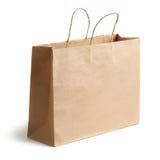 Brown-Papierbeutel Stockfotos