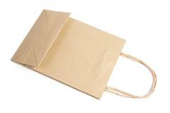 Brown-Papierbeutel Lizenzfreies Stockbild