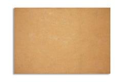 Brown-Papierblattbeschaffenheit Lizenzfreie Stockbilder