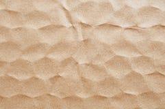 Brown-Papierblatthintergrund Stockbild
