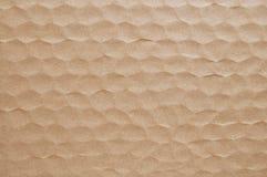 Brown-Papierblatthintergrund Stockfotos