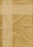 Brown-Papierhintergrund Lizenzfreie Stockfotos