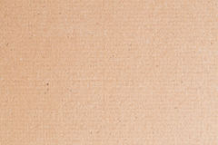 Brown-Papierkasten leer, abstrakter Papphintergrund Stockfotografie
