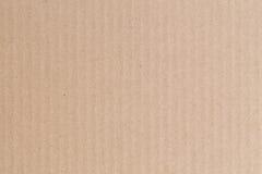 Brown-Papierkastenzusammenfassungsbeschaffenheitshintergrund Lizenzfreies Stockbild
