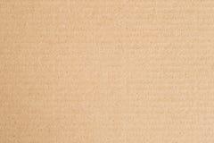 Brown-Papierkastenzusammenfassungsbeschaffenheitshintergrund Lizenzfreies Stockfoto