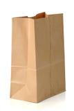 Brown Papierowa torba fotografia royalty free
