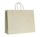 Brown papierowa torba obrazy royalty free