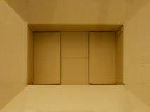 brown papierowy pudełko Zdjęcia Royalty Free