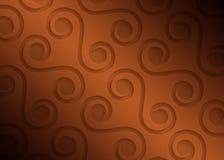 Brown papieru geometryczny wzór, abstrakcjonistyczny tło szablon dla strony internetowej, sztandar, wizytówka, zaproszenie ilustracji