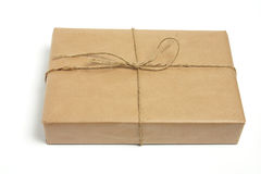 Brown Parcel Stock Image