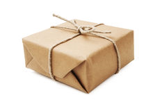 Brown Parcel Stock Photography