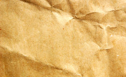 Brown parcel paper background Royalty Free Stock Photos