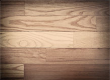 Brown parqueted floor, wooden texture with Royalty Free Stock Photos