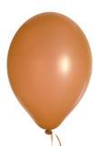 Brown party balloon Stock Photo
