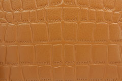 Brown patent leather  background Stock Photography