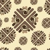Brown pattern seamless texture Stock Photography