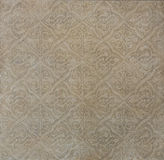 Brown pattern tile. For decoration Stock Photography