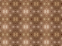 Brown Pattern Wallpaper Background Royalty Free Stock Photography