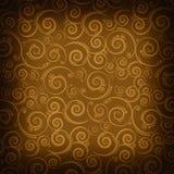 Brown patterned background royalty free illustration